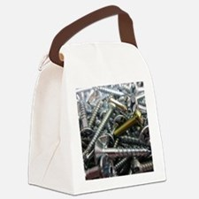Nails Canvas Lunch Bag
