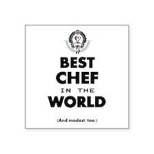 The Best in the World – Chef Sticker