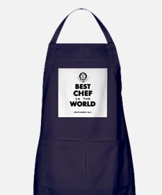 The Best in the World – Chef Apron (dark)
