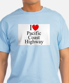I Love Pacific Coast Highway T-Shirt