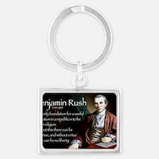 Jan Rush Landscape Keychain