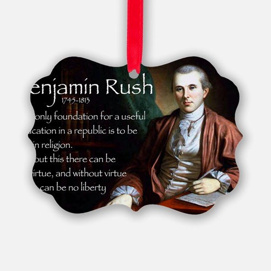 Jan Rush Ornament
