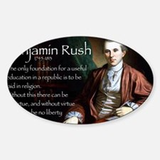 Jan Rush Sticker (Oval)