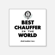 The Best in the World – Chauffer Sticker