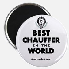 The Best in the World – Chauffer Magnets