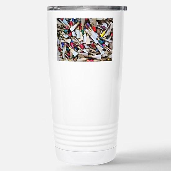 Reeds-framed print Stainless Steel Travel Mug