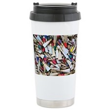 Reeds-framed print Travel Coffee Mug