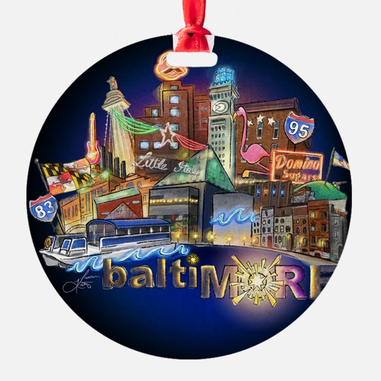 baltiMORE Ornament