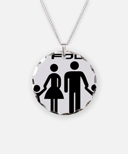 Family Is Four Necklace