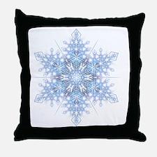 Snowflake Designs - 023 - transparent Throw Pillow