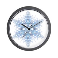 Snowflake Designs - 023 - transparent Wall Clock