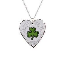 MURPHY-001dark Necklace Heart Charm