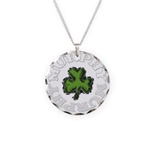 MURPHY-001dark Necklace Circle Charm