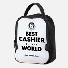 The Best in the World – Cashier Neoprene Lunch Bag