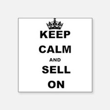 KEEP CALM AND SELL ON Sticker