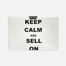KEEP CALM AND SELL ON Magnets