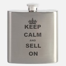 KEEP CALM AND SELL ON Flask
