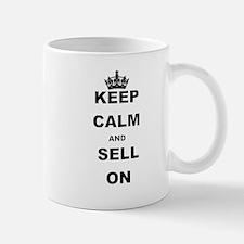 KEEP CALM AND SELL ON Mugs
