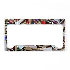Reeds-laptop skin License Plate Holder
