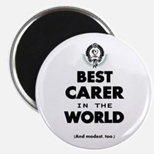 The Best in the World – Carer Magnets