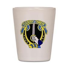 Gary Owen Emblem Shot Glass