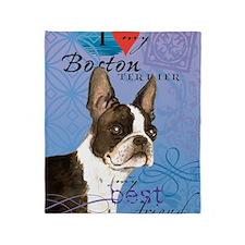 boston-iPad1 Throw Blanket