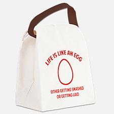 lifeEgg1D Canvas Lunch Bag