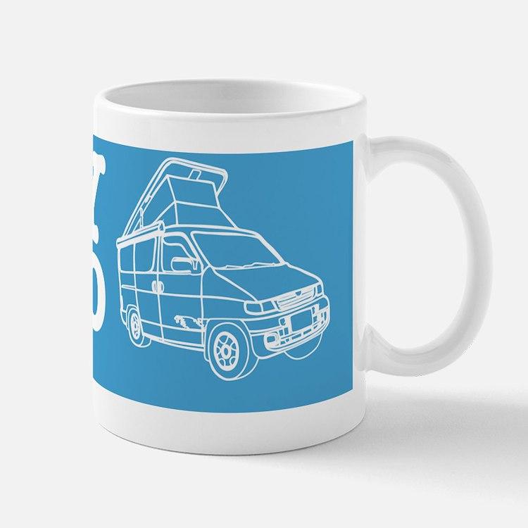 Car Sticker Template Mug