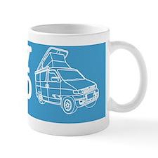 Car Sticker Template Small Mug