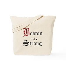 Boston 617 Strong Tote Bag