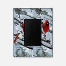 Cardinal Winter Picture Frame
