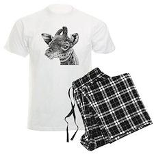 Giraffe Calf (Throw pillow) Pajamas