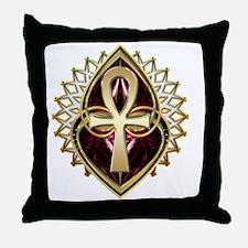 ANKH-LOVE1 Throw Pillow