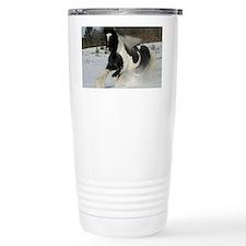 Mickey Snow  Rectangle Thermos Mug