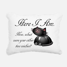 here_i_am-112011 Rectangular Canvas Pillow