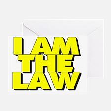 law Greeting Card