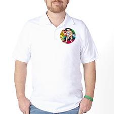 santa-circle T-Shirt