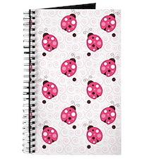 Ladybug Flip Flops Journal