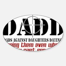 daddcross2 Sticker (Oval)