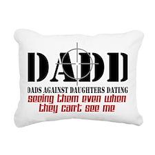 daddcross2 Rectangular Canvas Pillow