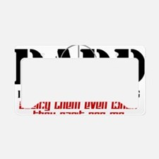 daddcross2 License Plate Holder