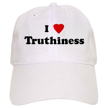 I Love Truthiness Cap