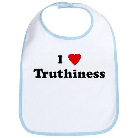 I Love Truthiness Bib