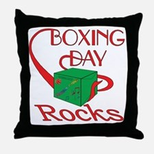 boxing day2 Throw Pillow