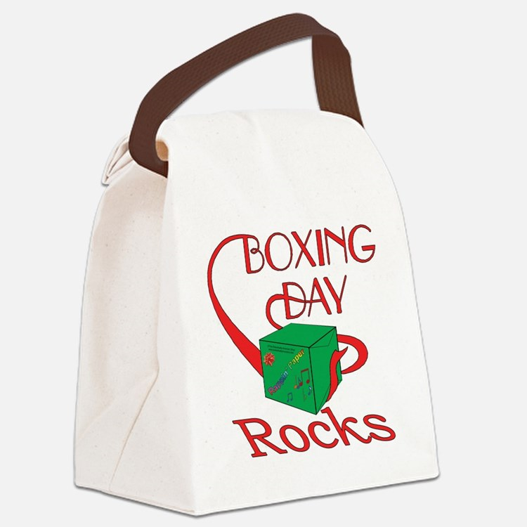 boxing day2 Canvas Lunch Bag