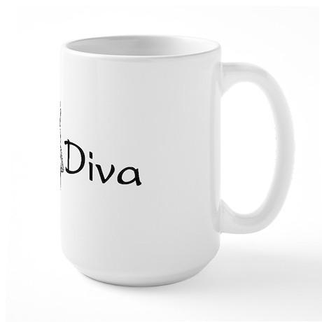 Hula Diva (B) Large Mug
