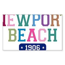 Newport Beach 1906 W Decal