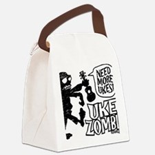 Uke Zombie Canvas Lunch Bag