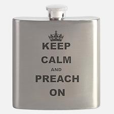 KEEP CALM AND PREACH ON Flask