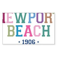 Newport Beach 1906 B Decal